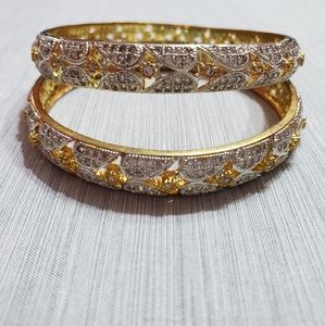 Two-toned Bangles